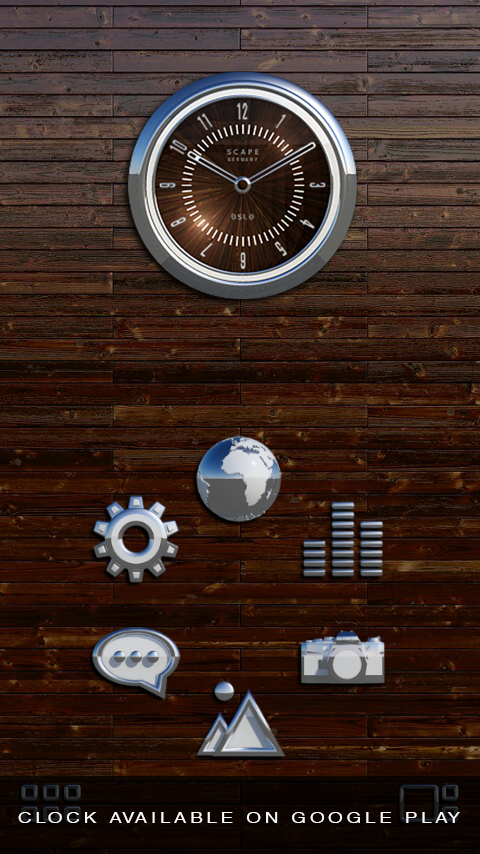 OSLO Smart Launcher Theme Screenshot 1