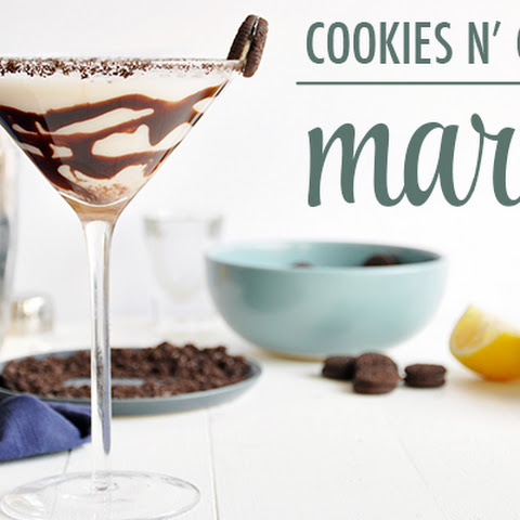 Cookies n' Cream Martini