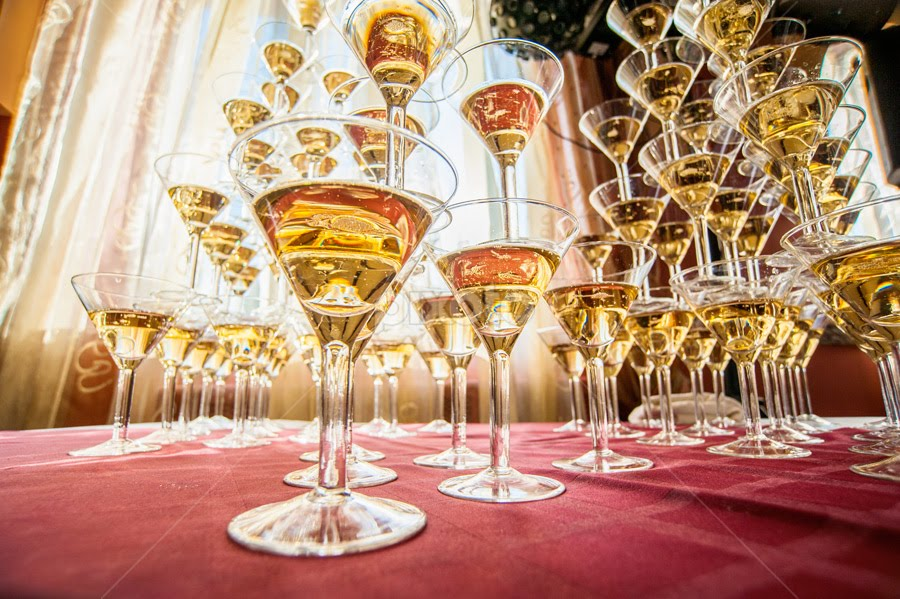 Pyramid by Artur Jakutsevich - Wedding Details ( champagne, color, alcohol, pyramid, drink, beauty, slide )
