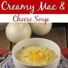 Creamy Mac & Cheese Soup Recipe – Great New Take on an Old Favorite!
