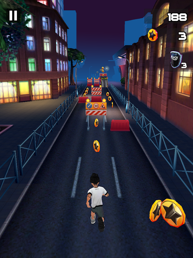 Black Star Runner Screenshot 9