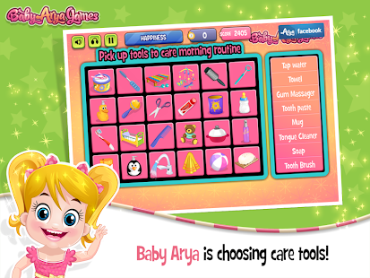 Baby Arya Good Morning- screenshot