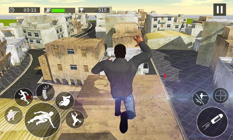 Mad City Rooftop Police Squad Screenshot 3