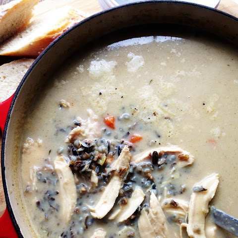 Creamy Chicken and Wild Rice Soup (and an Amazon Giveaway!)