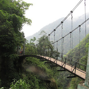 Bridge of Sikkim by Shishir Desai - Buildings & Architecture Bridges & Suspended Structures ( pwcbridges,  )