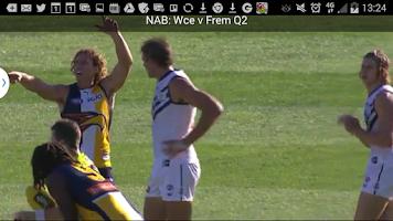Screenshot of AFL Live Official App