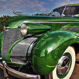 Midnight Green by JEFFREY LORBER - Transportation Automobiles ( 1939 cadillac, gateway classic cars, cadillac, lorberphoto, david kantes, midnight green, jeffrey lorber )
