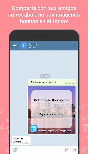 WordBit Inglés [Lockscreen] screenshot 7