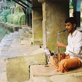 by Rajeev Ganesan - People Portraits of Men