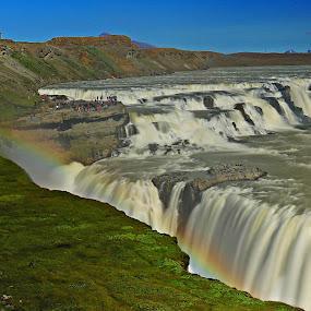 Gullfoss Waterfall by Roni Terisno - Nature Up Close Water
