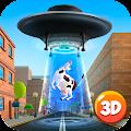Free Cartoon Alien UFO Simulator 3D APK for Windows 8