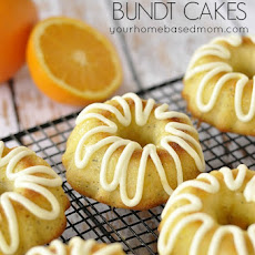 Orange Poppyseed Bundt Cake