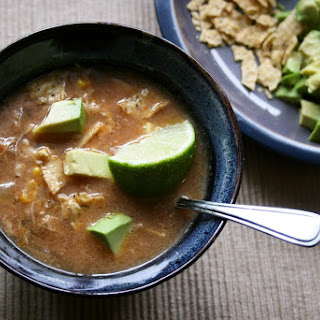 Mexican Chicken Crockpot Soup