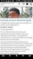 Screenshot of Tampa Bay Times e-newspaper