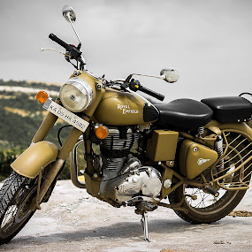 Royal Enfield by Gurucharan Shamji - Transportation Motorcycles