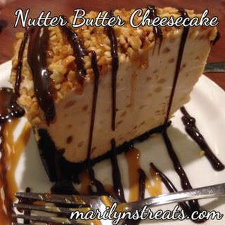 Nutter Butter Cookie Cheesecake