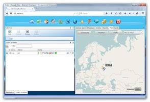 Screenshot of GPS Tracker Location