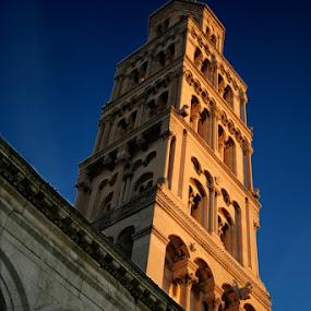 Bell Tower of Saint Domnius by Blanka Bareza - Travel Locations Landmarks ( pwclandmarks )