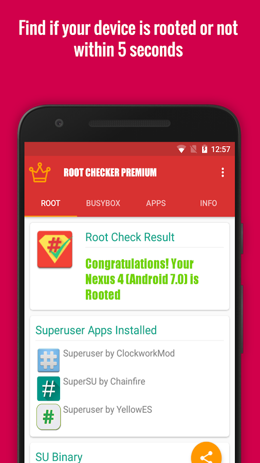 Root Checker Premium [50% off] Screenshot 1