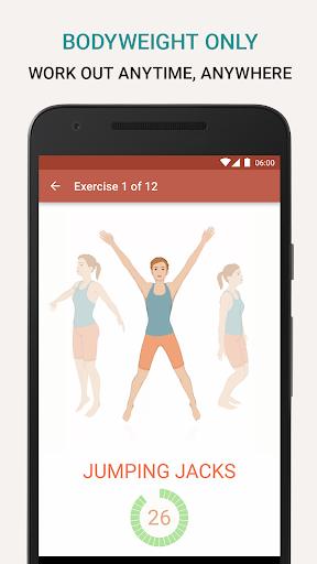 Seven - 7 Minute Workout - screenshot