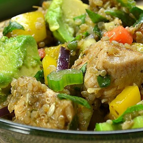 Mexican Chicken Quinoa Salad