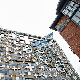 birmingham by Kathleen Devai - Buildings & Architecture Office Buildings & Hotels ( colour, buildings, lines, shape, city )