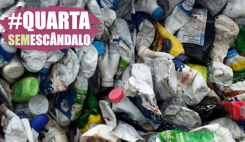 #QuartaSemEscandalo: embalagens