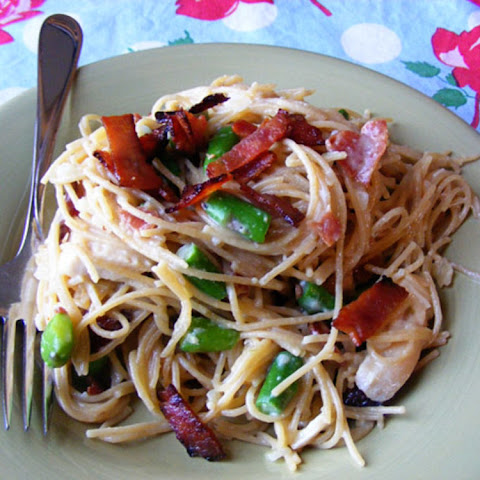 Chicken and Bacon Carbonara