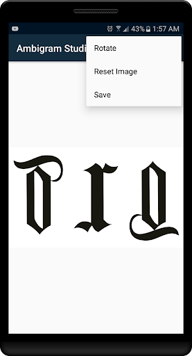 Ambigram Studio Pro For PC