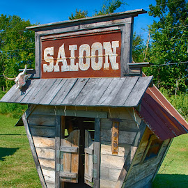Saloon by Ray Ebersole - Buildings & Architecture Architectural Detail