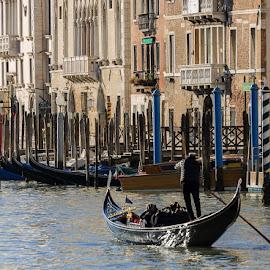 Venice street photography by Viorel Stanciu - Transportation Boats ( water, venice, sea, boat, italy )
