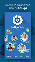 Screenshot of LaLiga Stats Oficial BBVA