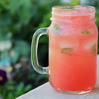 Pink Lemonade & Watermelon Fizz