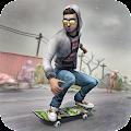 Skateboard Pro Zombie Run 3D
