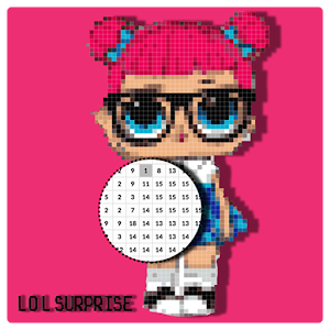 LOL Surprise Pixel Art - Number Coloring Books For PC / Windows 7/8/10 / Mac – Free Download