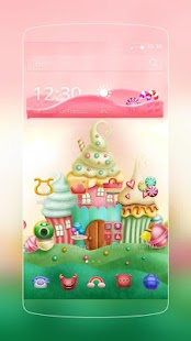 Candy World Theme - screenshot
