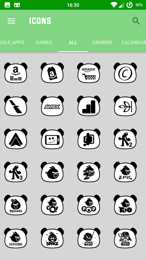 Panda Icon Pack Screenshot 4