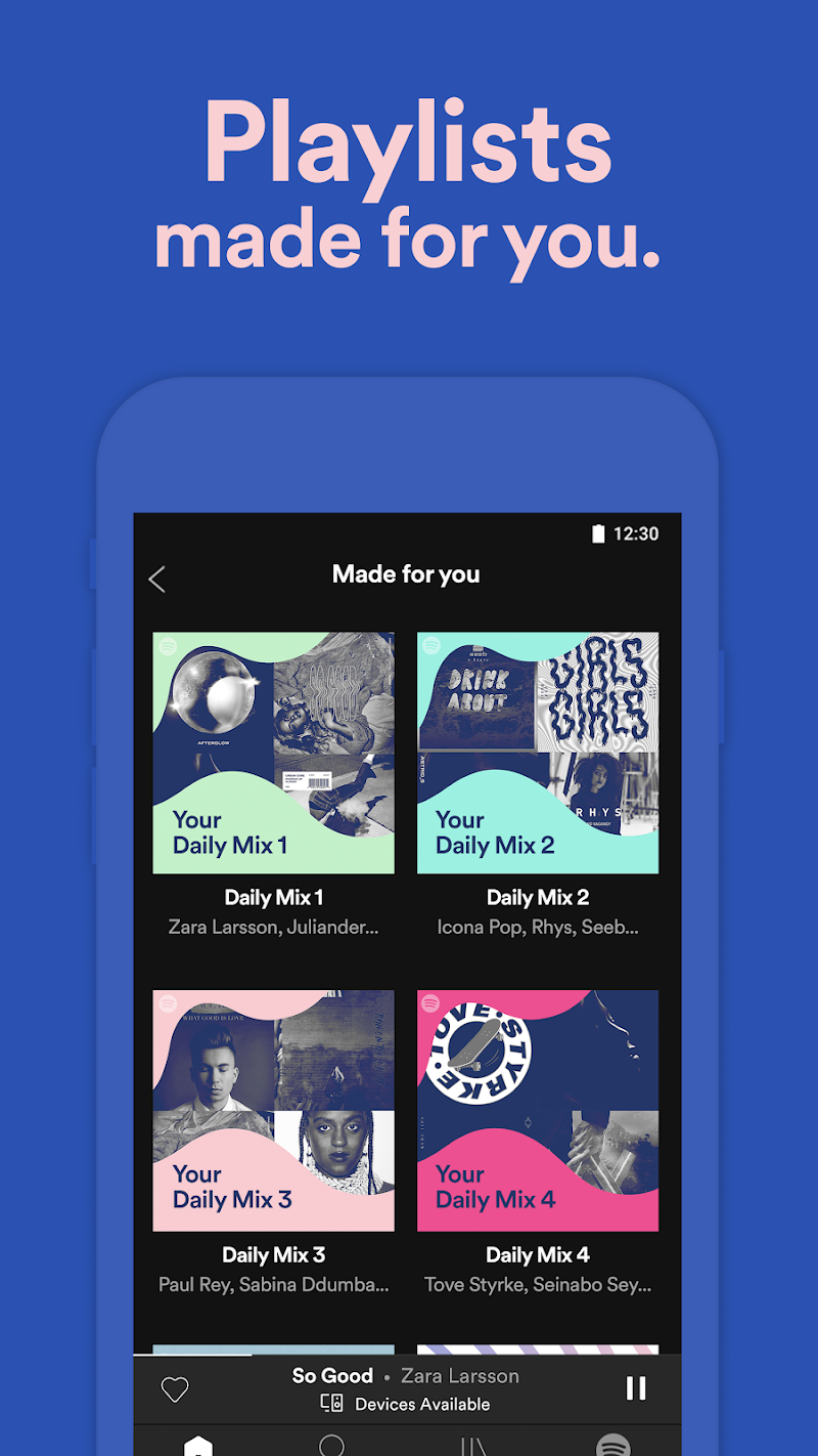 Spotify Music Screenshot 5