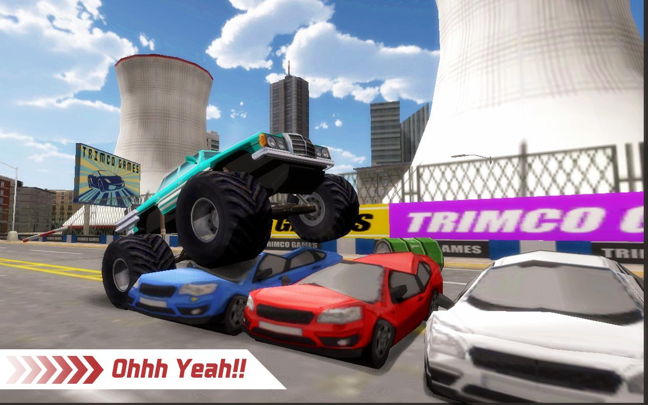 Monster Truck 4x4 Stunt Racer Screenshot 0