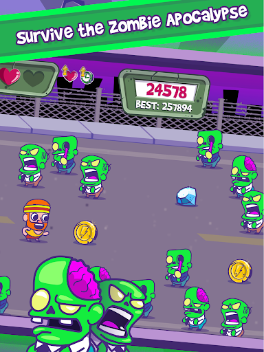 Zombie Chase - Runner Game - screenshot