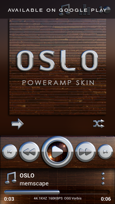 OSLO Next Launcher 3D Theme Screenshot 7