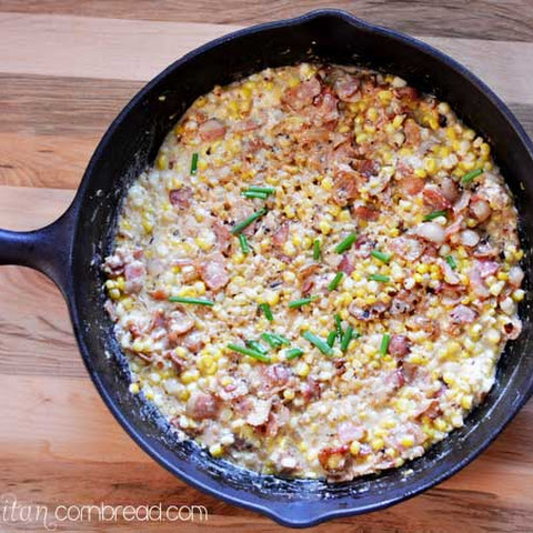 Skillet Corn with Bacon
