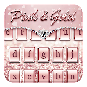 App Pink & Gold Keyboard Theme APK for Windows Phone
