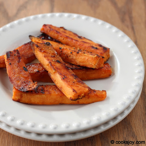 Baked Sweet Potato Wedges