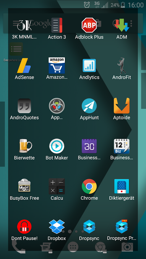 Everywhere Launcher Screenshot 2
