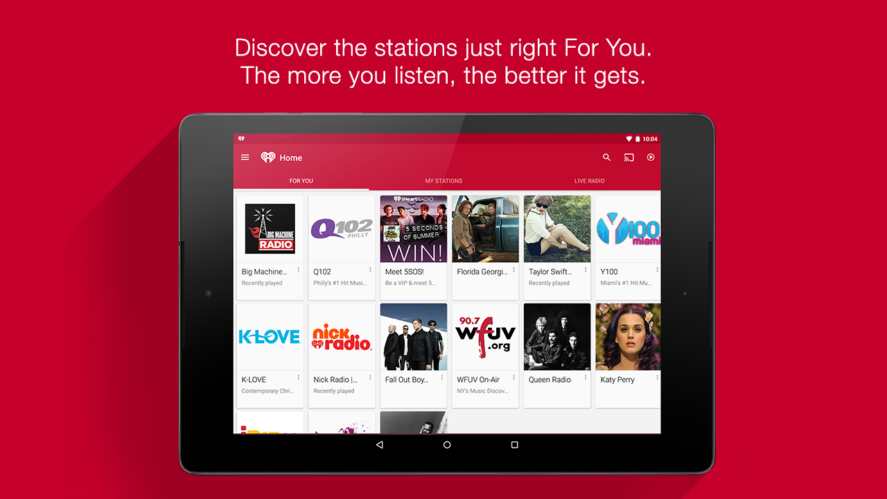 iHeartRadio Free Music & Radio Screenshot 13