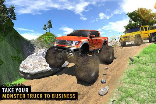 Offroad Jeep Driving Simulator - Jeep Simulator screenshot 4