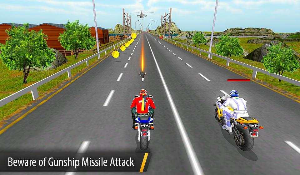Bike Attack Race : Stunt Rider Screenshot 2