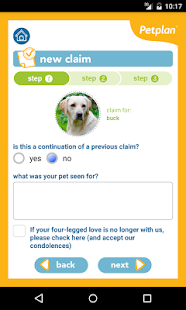 Petplan - screenshot