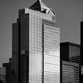 Seattle  by Todd Reynolds - Black & White Buildings & Architecture